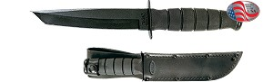 SHORT KA-BAR TANTO-BLACK
