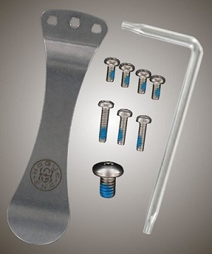 "EX-01 3.5"" or 4"" Folder Stainless Steel Torx Screw and Clip Kit"