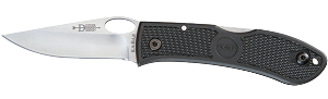 DOZIER FOLDING HUNTER W/THUMB NOTCH-BLACK