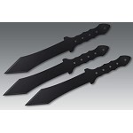 3 Gladius Throwers with Tri Sheath