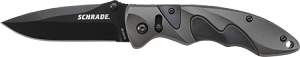 Black AUS-8 Blade, AK Color Aluminum Handle w/Black Inserts, Thumb Studs, Sure-Lock