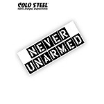 Never Unarmed Bumper Sticker