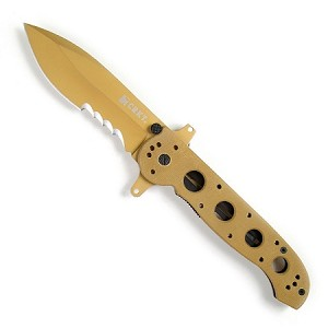 M21 Special Forces - Desert Tan G10 Handle, AutoLAWKS, Veff Combo ..