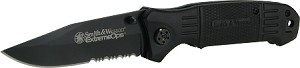 S&W Extreme Ops. Drop Point 40% Serrated